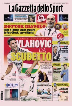 La prima Pagina Gazzetta